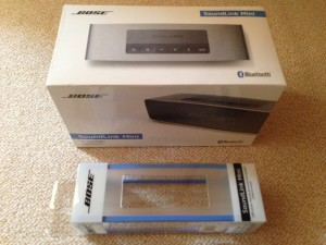Bose SoundLink Mini Bluetooth スピーカー+専用soft cover