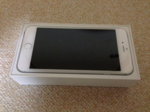iPhone 6 Plus シルバー